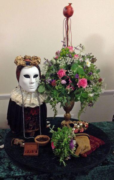 Tudor Flowers demonstration a