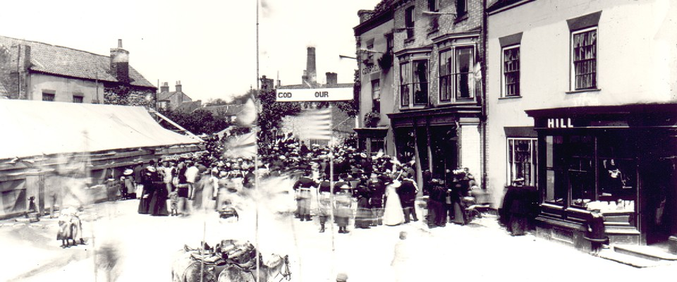Market Place 1897 Diamond Jubilee