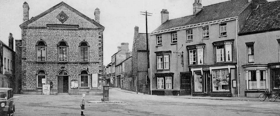 Market Place 1930s