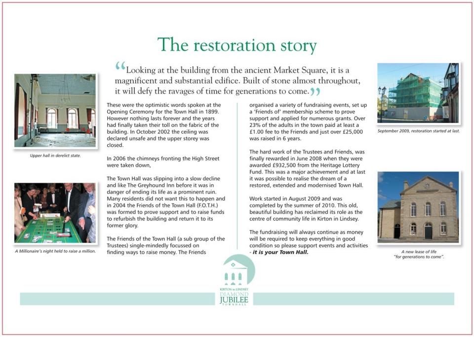 The Restoration Story