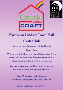 Create and Craft poster
