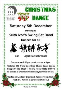 Christmas Dance poster 2015