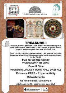 Treasure poster
