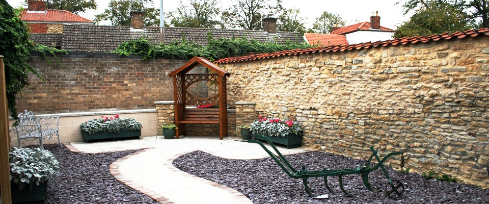 The Town Hall garden