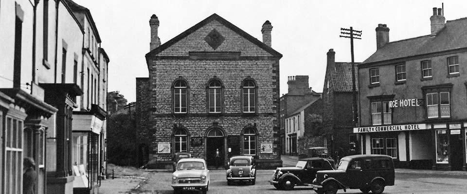 Market Place 1950s
