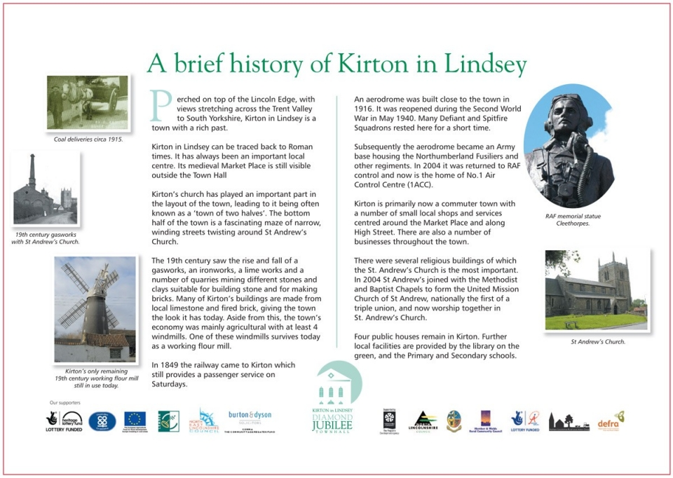 A brief history of Kirton in Lindsey