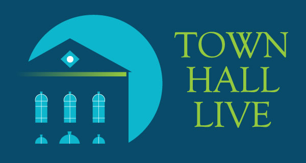 Town Hall Live Logo