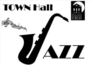 TOWN HALL JAZZ LOGO draft